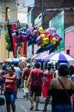 圣周在利马-秘鲁2018年 免版税图库摄影