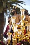 圣周在塞维利亚,安大路西亚,西班牙 库存图片