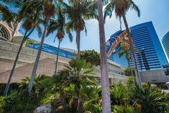 圣地亚哥会议中心在圣地亚哥,加州 免版税库存照片