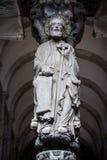 圣地亚哥传道者雕塑 库存照片