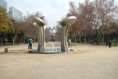 圣地亚哥公园 库存照片