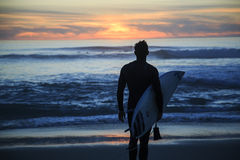 圣地亚哥冲浪者 免版税库存图片