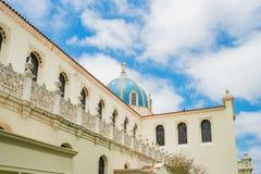 圣地亚哥大学Immaculata教会  库存照片