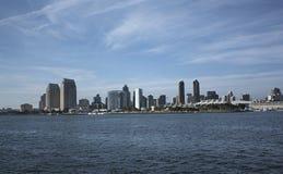 圣地亚哥市,美国风景  库存照片