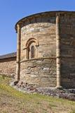 圣地亚哥教会的近星点在Villafranca del Bierzo 免版税库存照片