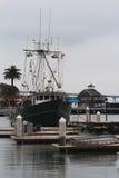 圣地亚哥江边 免版税库存图片