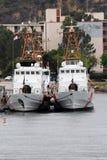 圣地亚哥海军基地 免版税库存图片