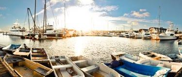 圣地亚哥海湾 免版税图库摄影