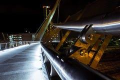 圣地亚哥街市桥梁 免版税库存图片