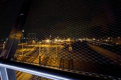 圣地亚哥街市桥梁 图库摄影