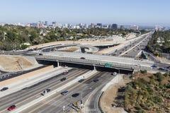 圣地亚哥高速公路天 免版税库存照片