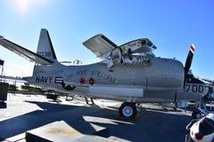 圣地亚哥,加利福尼亚-美国- 12月04,2016 -东部方式航空公司USS中途博物馆 免版税库存图片