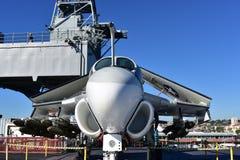 圣地亚哥,加利福尼亚-美国- 12月04,2016 -航空器511 USS博物馆 库存图片