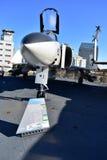 圣地亚哥,加利福尼亚-美国- 12月04,2016 -航空器F/A - 18个幽灵II战斗机 免版税库存照片