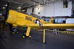 圣地亚哥,加利福尼亚-美国- 12月04,2016 - NAVCAD罗杰拉贾在USS中途博物馆 库存图片