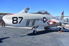 圣地亚哥,加利福尼亚-美国- 12月04,2016 - USS航空器博物馆 免版税库存照片