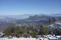 圣地亚哥,智利首都 图库摄影