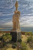 圣地亚哥,美国4月14,2016的美国:在洛马角半岛的Cabrillo国家历史文物 库存照片