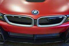 圣地亚哥, CA/USA - 2016年10月15日:圣地亚哥汽车&咖啡车展 免版税库存照片