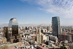 圣地亚哥 免版税库存图片