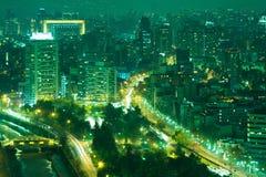 圣地亚哥de智利 免版税图库摄影