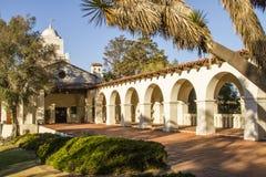 圣地亚哥Presido 免版税库存照片