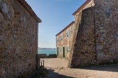 圣地何塞da Ponta Grossa堡垒-弗洛里亚诺波利斯,圣卡塔琳娜州,巴西 库存照片
