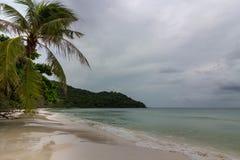 圣地海滩phu quok海岛 免版税库存图片