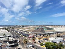 圣地牙哥国际机场 免版税库存照片