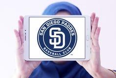 圣地牙哥教士棒球俱乐部商标 免版税图库摄影