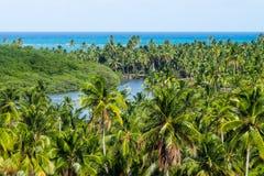 圣地米格尔dos Milagres - Alagoas,巴西 免版税库存图片