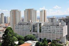 圣地雷斯医院,圣保罗,巴西 库存照片