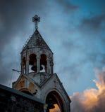 圣地 晚上伯利恒 库存照片