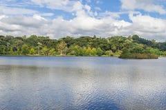 圣地Bernardo湖 图库摄影