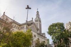 圣地Pelegrino教会-南卡希亚斯,南里奥格兰德州,巴西 库存图片