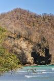 圣埃伦娜海湾 免版税图库摄影