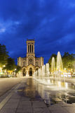 圣埃蒂尼大教堂在法国 免版税库存照片