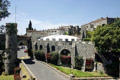 圣塔切奇利娅城堡 免版税库存图片