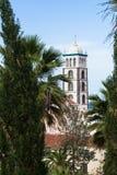 圣塔安那教会。 Garachico,特内里费岛。 免版税图库摄影
