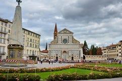 圣塔玛丽亚中篇小说在佛罗伦萨 库存图片