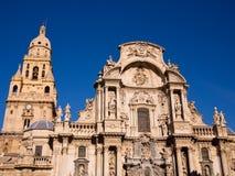 圣塔玛丽亚大教堂在穆尔西亚-西班牙 免版税库存图片