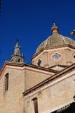圣塔玛丽亚教会, Ecija,西班牙。 免版税图库摄影