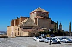 圣塔玛丽亚教会, Osuna,西班牙。 库存图片