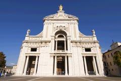 圣塔玛丽亚degli奉告祈祷大教堂  库存照片