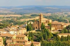 圣塔玛丽亚dei Servi大教堂  免版税库存图片