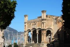 圣塔玛丽亚della锁链教会,巴勒莫 库存照片