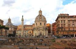 圣塔玛丽亚di Loreto 库存图片