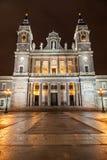 圣塔玛丽亚la Real de La Almudena 库存照片