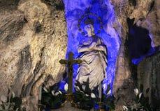 圣塔罗萨莉娅,巴勒莫雕象  库存图片
