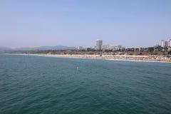 """圣塔蒙尼卡海滩†""""放松或获得的乐趣一个美妙的地方 加州 库存图片"""